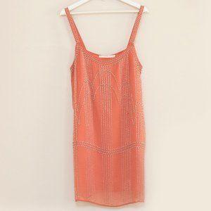 Susana Monaco Coral Beaded & Embellished Dress 8